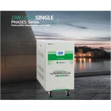 Jjw monofásico de la serie Precise Purified regulador de voltaje de la fuente de alimentación