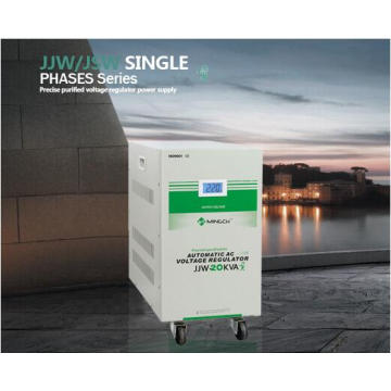 Jjw Single Phase Series Precise Purified Power Supply Voltage Regulator