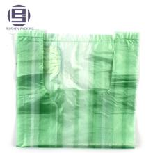 Cheap striped hdpe t-shirt shopping plastic bags