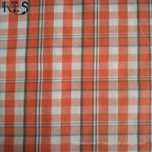 100% tissu tissé de fil de popeline de coton teint pour des chemises / Dress Rls40-39po