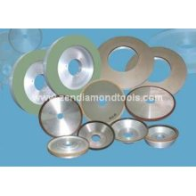 Vitrified bond diamond and CBN grinding wheels