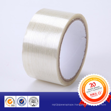 Glass Fibre Adhesive Tape Glass Banding Tape for Strip-Type
