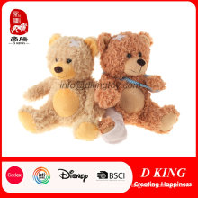 Children Toy Stuffed Injured Plush Teddy Bear with En71 Approved