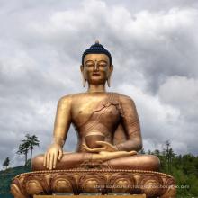 Haute qualité coulée indienne Bronze Bouddha Statue à vendre
