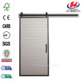 Mountain Modern White Wood Barn Door