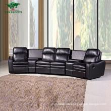 Best Selling Chairs Cinema Modern Designs 4 Seating Sofa Furniture
