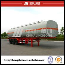 LNG tanque acoplado, semi-remolque del tanque de líquido para el transporte líquido químico