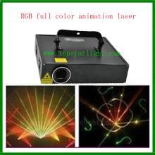 Terbaik harga DJ peralatan 2W RGB kartun Laser pencahayaan