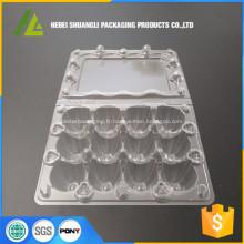 Boîtes à oeufs à caille en plastique 12 trous