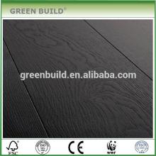 schwarzer Holzlaminatboden