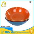 """china supplier wholesale melamine bamboo 12"""" large plastic salad bowls"""