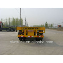 Precio de remolque de contenedor 3axle 40ft, semirremolque de contenedor de 40ft