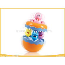Baby Toys Music Tumbler Plastic Toys