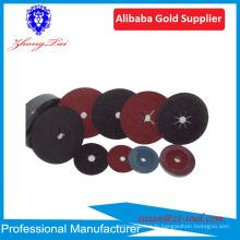 disque de fibre abrasive d'oxyde d'aluminium