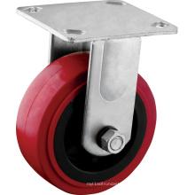 Roulettes à plaque fixe robustes