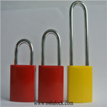 Aluminum Safety Padlock Lockout