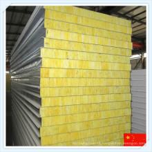 2016 Panel de sándwich de lana de vidrio para pared o techo