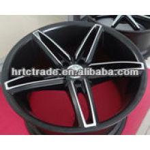 20 inch beautiful 5 spokes car wheel for wholesale