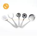 High grade mirror polished 5-piece set stainless steel kitchen utensils