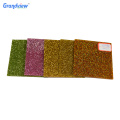 3mm Glitter  Pink color Acrylic Sheets For Artwork Processing decorate