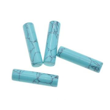 10x18MM Turquoise Tube Jewelry Beads