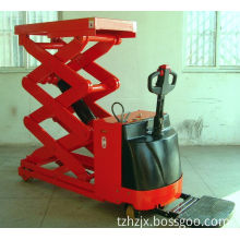 Mobile Scissor Lift Truck with Standing Pedal