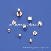 good electrical conductivity Electrical contact rivet