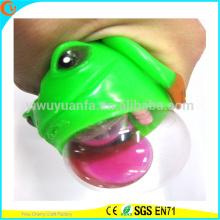 Горячие Продажа новизны tpr привело выжать Лягушка шарик воды игрушки
