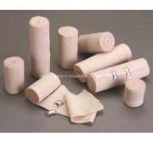 Petit pain tubulaire élastique de bandage de gaze de bandage à usage unique
