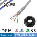 SIPUO alta calidad cat5e stp cable 305m tire en una caja