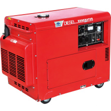 5kw gerador diesel silencioso super com CE