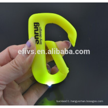 Light yellow LED lights and colorful climbing hooks,wholesale,welcome to order.
