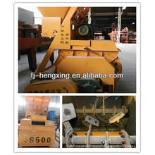 Made In China Concrete Mixer Machinery Cement Mixing Machine JS500