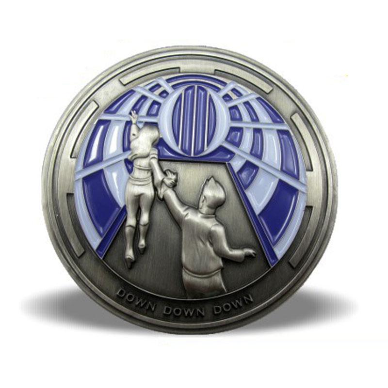 2D Metal Souvenir Coins