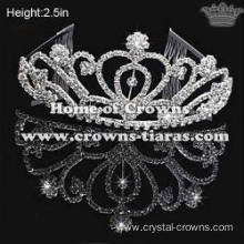 Wholesale Crystal Wedding Party Tiaras