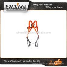 2015 nouveau produit convivial harnais de sécurité et de la corde longe