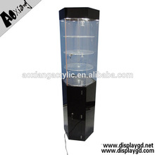attractive durable acrylic round display stand for displaying jewelry