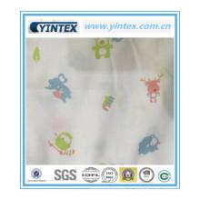 Tecido de algodão macio 100% para o bebê