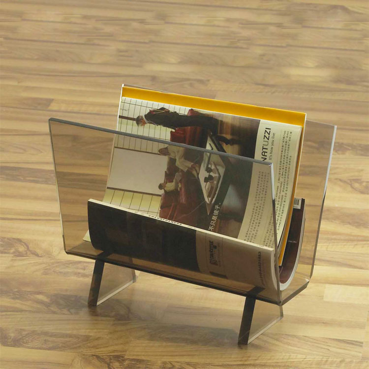High Quality Acrylic Magazine Stand With Cheap Price