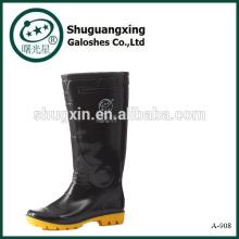 Última zapato único diseño réplica lluvia Botas A-908 hombre