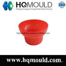 Moulage par injection en plastique de chapeau de tasse avec la certification d'OIN