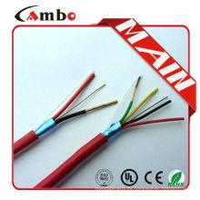 Alta calidad 75 grados de la nueva chaqueta del pvc 1000ft Rojo FPL FPLR cable del fuego del fpl