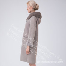 Lady Bias Zipper Spain Merino Shearling Overrock
