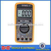 Цифровой мультиметр DT9208A CE с температуры с тест на логику с частотой с удержания данных