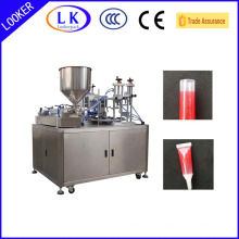 turn table ultrasonic plastic tube filling and sealing machine