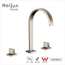 Haijun Australian Market Dual Handle Instant Heating Water Sink Waterfall Basin Faucets