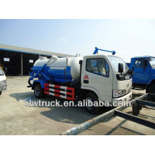 Dongfeng 3000L de aspiración de aguas residuales camión de succión