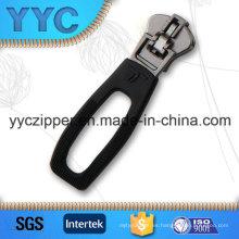 Último diseño auto-lock fancy zip deslizante para la ropa