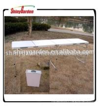 Table de bière pliante Protable Table de camping Table de plage