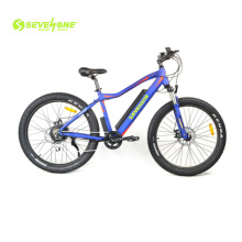 26 Inch Fat Tire Electric Bike with 48V 13ah Lithium Battery